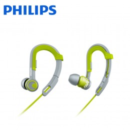 Philips SHQ3300LF ActionFit Sport In-Ear Hook - (Green Grey)